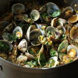 Sardinian Couscous With Clams.