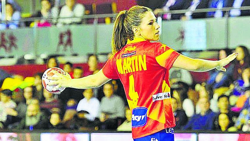 La almeriense Carmen Martín.