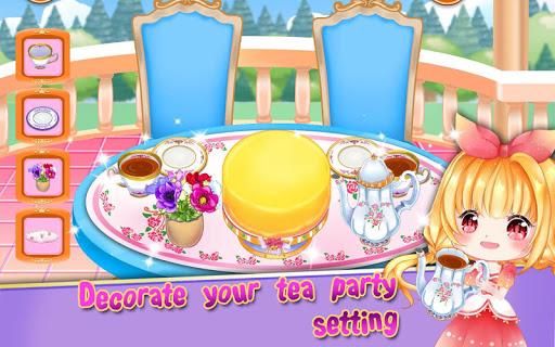 Royal Princess Tea Party Design and Decoration 1.1 screenshots 5