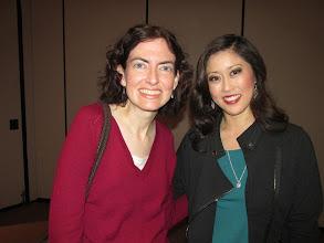 Photo: With Kristi Yamaguchi