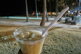 Photo: Coconut tapioca rannalla - ihan paras jälkkäri!
