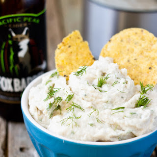 Vegan Dill Sour Cream Dip.