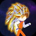 Stick Fight Z : Super Warrior Dragon icon