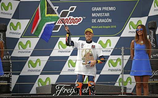 SA got its first world motorsport champion in decades, Brad Binder, in 2016.   Picture: RED BULL