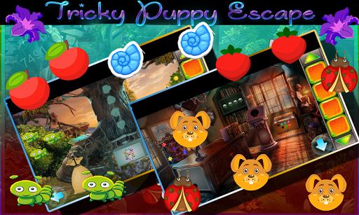 Kavi Game -427- Tricky Puppy Escape Game 1.0.0 screenshots 3
