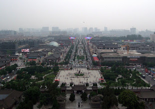 Photo: Xi'an from the Big Goose Pagoda