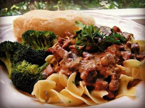 Beef Stroganoff  - Dee Dee's Recipe