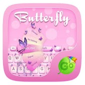 Butterfly GO Keyboard Theme