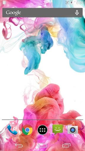 カラーインクライブ壁紙G4