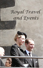 Photo: Princess Alexandra zu Sayn-Wittgenstein-Berleburg and husband Count Jefferson of Pfeil and Klein-Ellguth