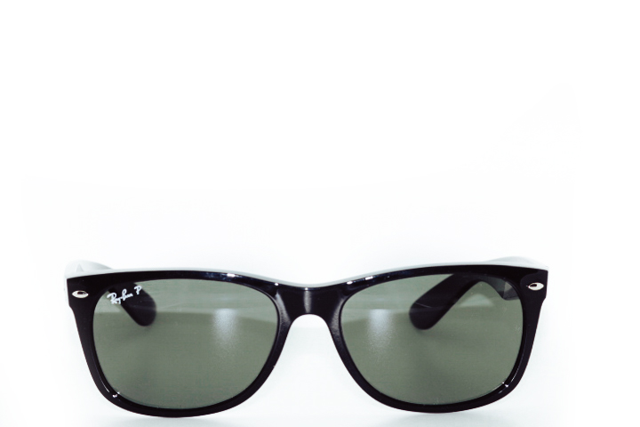 Ray Ban New Wayfarer Black polarized