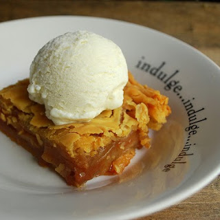 First Lady Michelle Obama's Apple Cobbler.