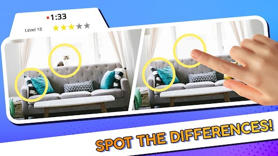 Spot the Difference – Find Them All 1