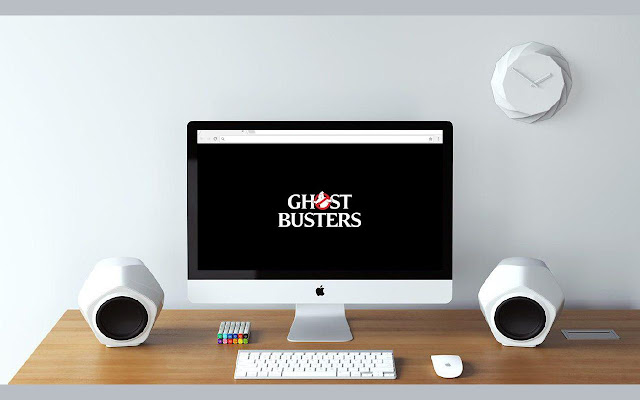 New Tab Ghostbusters Background