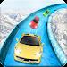 Frozen Water Slide Car Race icon