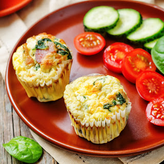 Bacon Spinach Egg Muffin