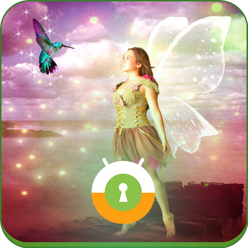 Winged Fairy Wall & Lock 個人化 App LOGO-APP開箱王