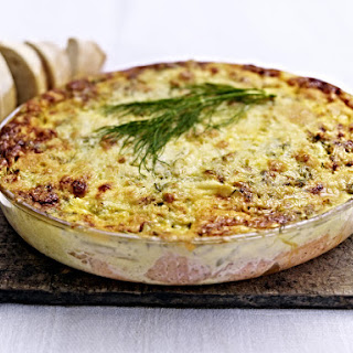 Creamy Salmon Pie