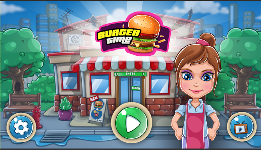 Télécharger gratuit Burger Game - Cooking Games APK MOD 1