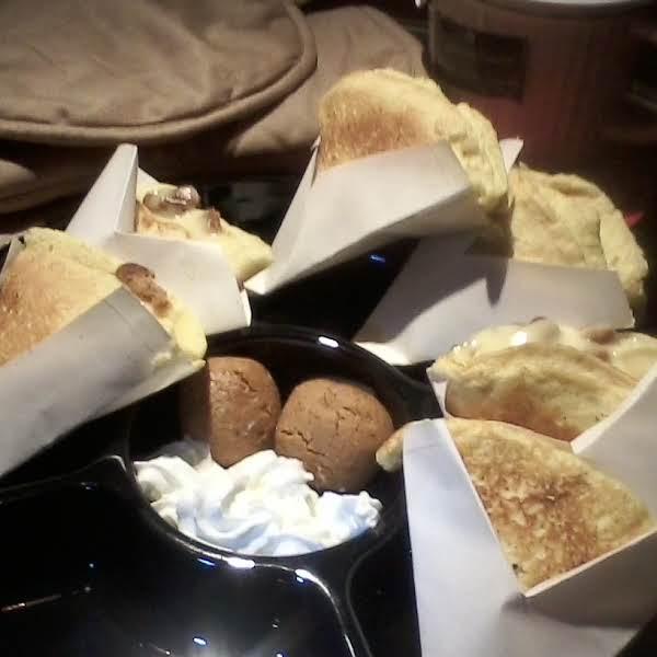 Cookies&cream Crepes Honey Optional! Recipe