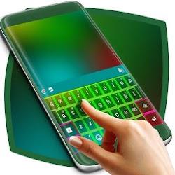 Green Neon Keyboard Theme