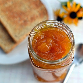 Peach-Mango Jam with Vanilla