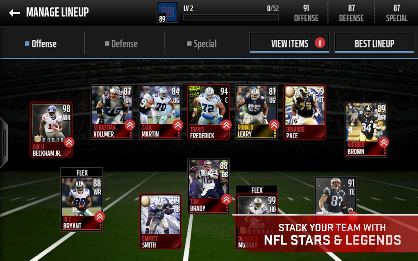 Best madden mobile team 2019