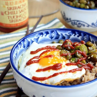 Bibimbap with Soy-Maple Glazed Edamame Recipe