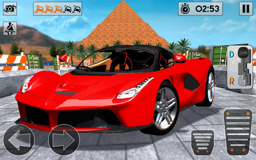 Sports Car parking 3D: Pro Car Parking Games 2020 apkdebit screenshots 1