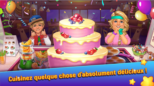 Code Triche Hellu2019s Cooking u2014 crazy chef burger, kitchen fever APK MOD screenshots 3