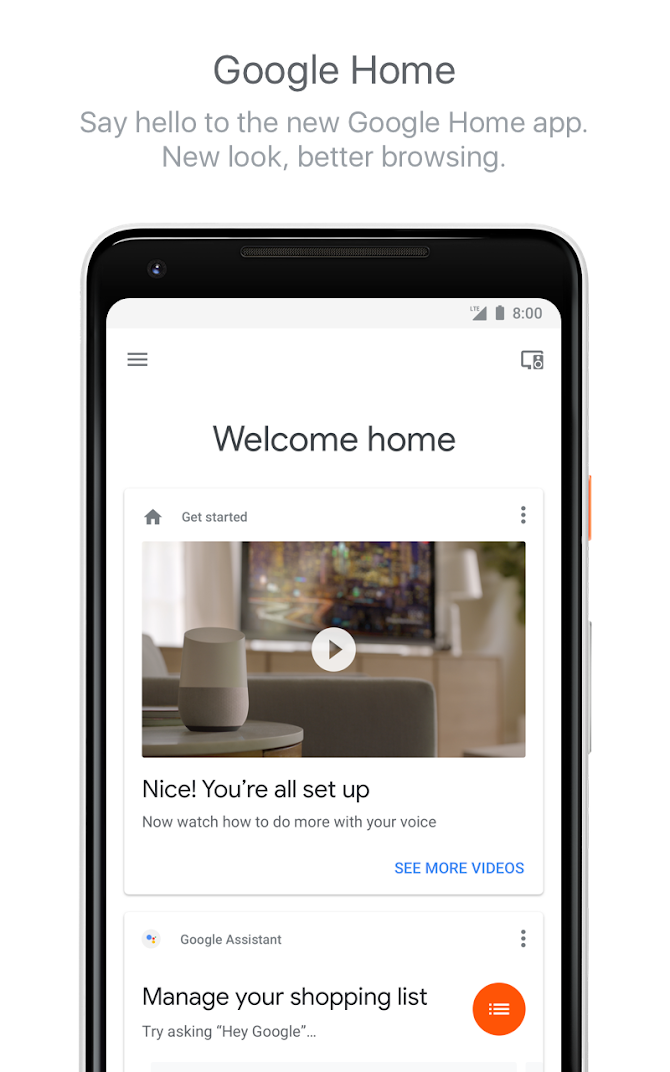 Google Home Android 1