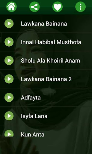Lagu Sholawat Nissa Sabyan MP3 Offline 1.0 screenshots 10