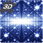 Parallax Infinite Particles 3D Live Wallpaper