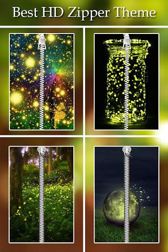 Fireflies Zipper Lock