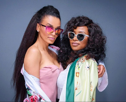 Pearl and Zinhle serve goals at SA Fashion Week