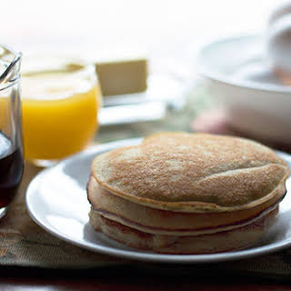 Low Carb Almond Flour Pancakes.