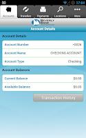 Screenshot of Beverly Bank
