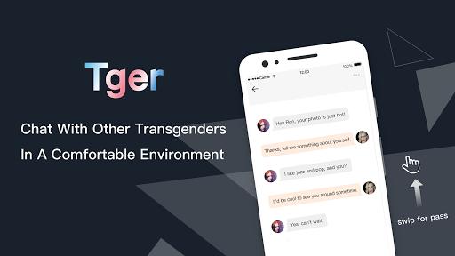Tger: Transgender Dating App for Trans Chat & Meet 1.0.2 screenshots 3