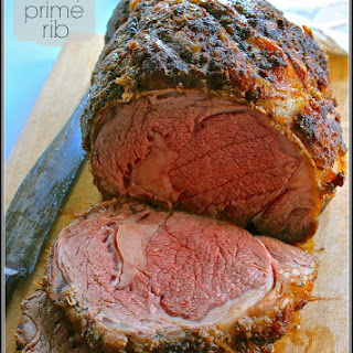 Restaurant-Style Prime Rib