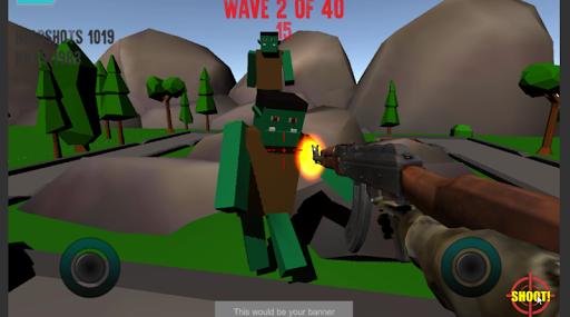 Ragdoll Monster Shooter- Free Ragdoll physics game ss3