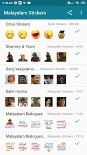 Malayalam Stickers Screenshot