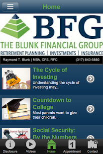 Blunk Financial Group- screenshot thumbnail