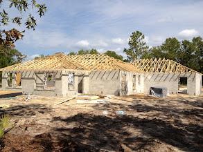 Photo: September 13, 2012 Framing in progress. Photo by Lake Weir Living