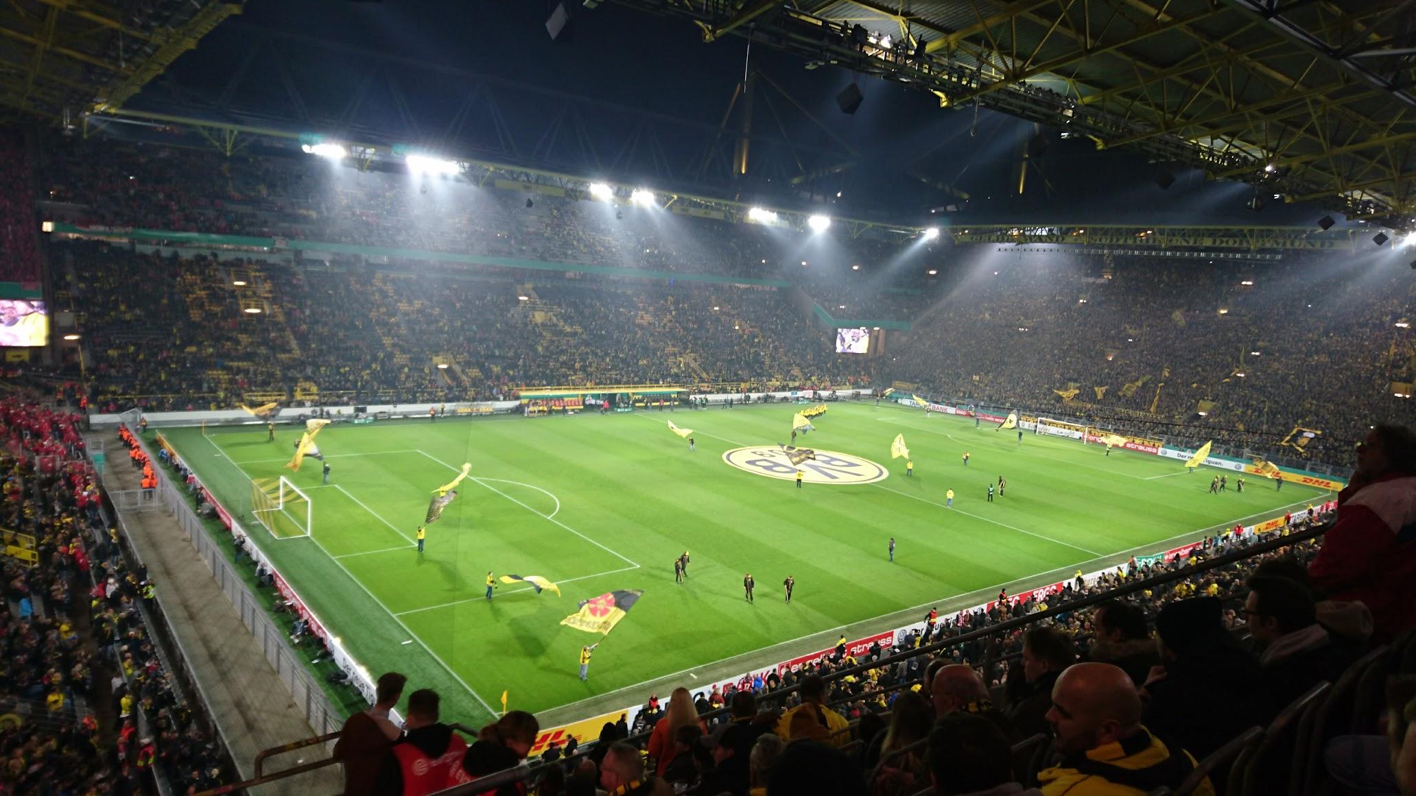 Borussia Dortmund Union Berlin Block 65 Signal Iduna Park BVB