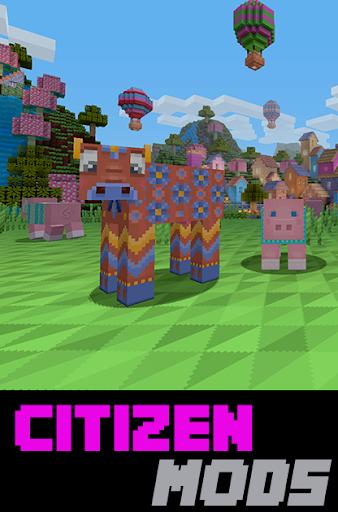Citizen Mods For Minecraft