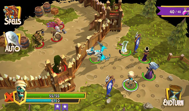 Heroes of Flatlandia Screenshot 8