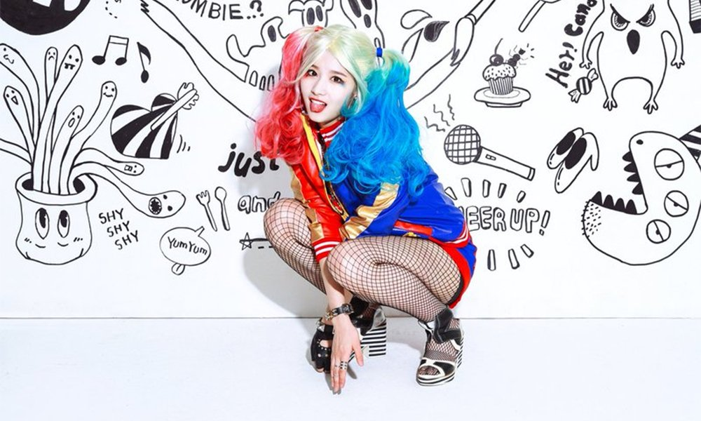 Twice S Sana Turns Into Harley Quinn In Special Project Teaser