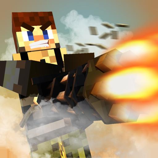 Blocky Mayhem: New Shooting Arcade Game