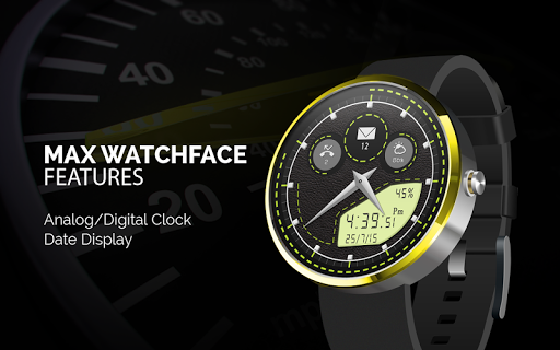 Max Watchface free
