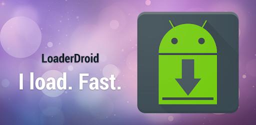 cara menggunakan loader droid download manager